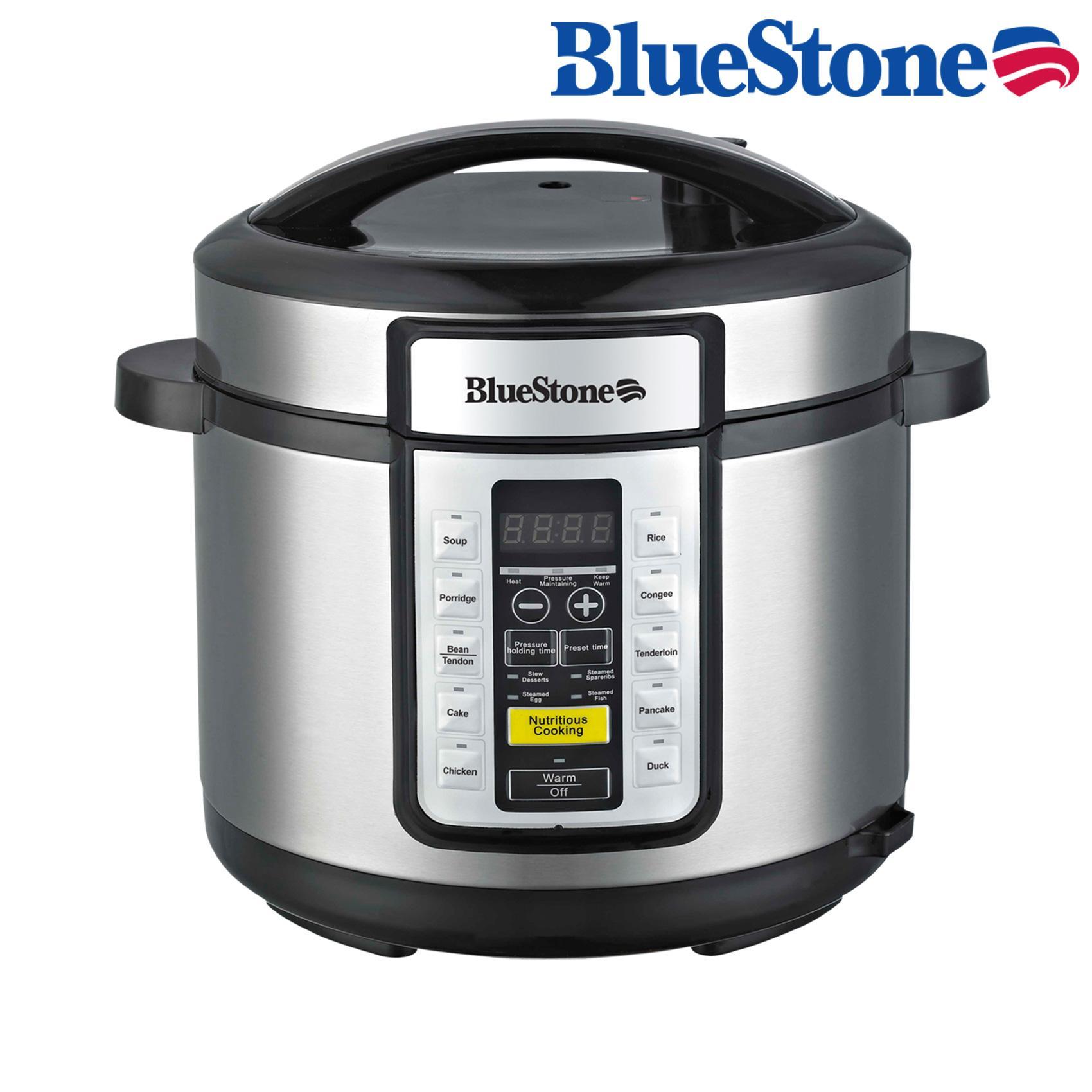 Nồi áp suất Bluestone PCB-5757D tặng Máy xay sinh tố cầm tayBluestone BLB-5218