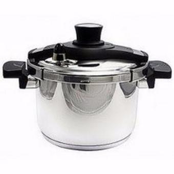 Nối áp suất living cook 5.8L, màu ghi, made In Korea Tiross PS58