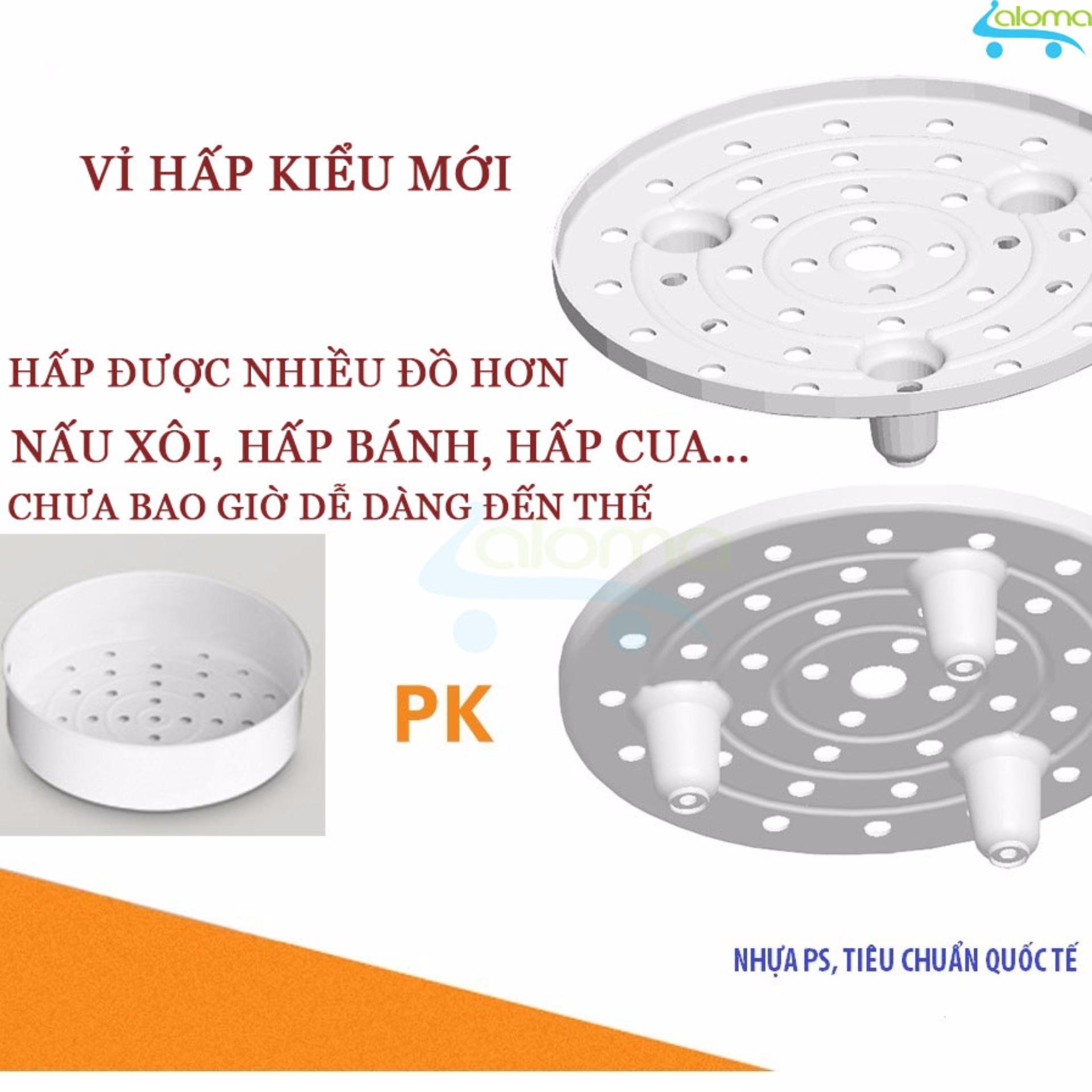Nồi cơm điện chống dính vân đá cao cấp Aulux 1.8 lít LS-18A1