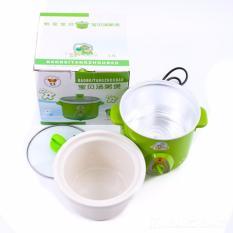 Giá bán Nồi kho cá, nấu cháo, hâm thịt đa năng CleverMart-Yibao 1,5L + Tặng kẹp chống muỗi tinh dầu