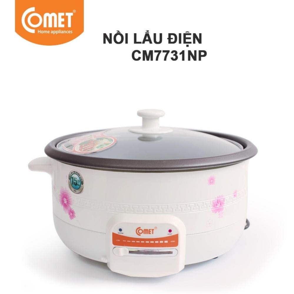 Cách mua Nồi lẩu điện Comet CM7731 3.5L