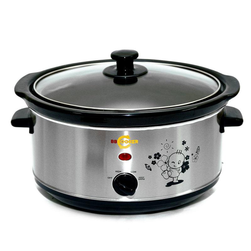 Nồi nấu cháo đa năng BBcooker 3.5L (Bạc)