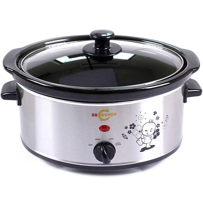 Nồi nấu đa năng BBcooker BS35 3.5L (Bạc)