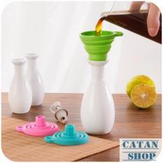 PHỄU RÓT NƯỚC XẾP GỌN, NHÀ BẾP, đồ dùng, dụng cụ rót nước, GD13-PXG (giao màu ngẫu nhiên)