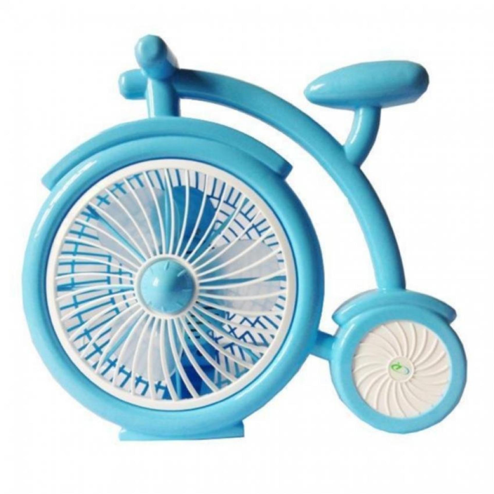 Quạt để bàn mini hình xe đạp Model ichitech