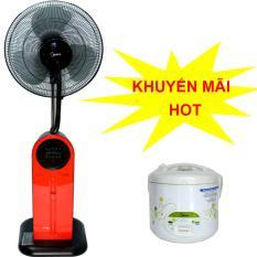 Bảng giá Quạt điện phun sương Midea FS40-13QR có điều khiển + Tặng nồi cơm điện Midea 1.8L trị giá 609,000vnd