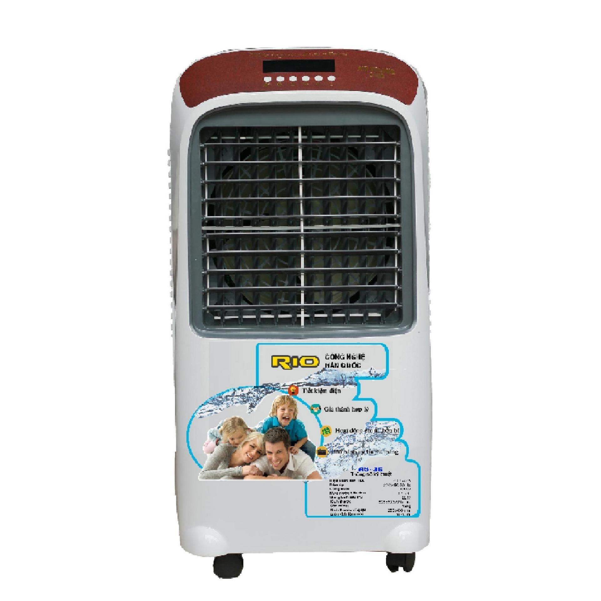 QUẠT ĐIỀU HÒA không khí RIO RO35 tiết kiệm điện