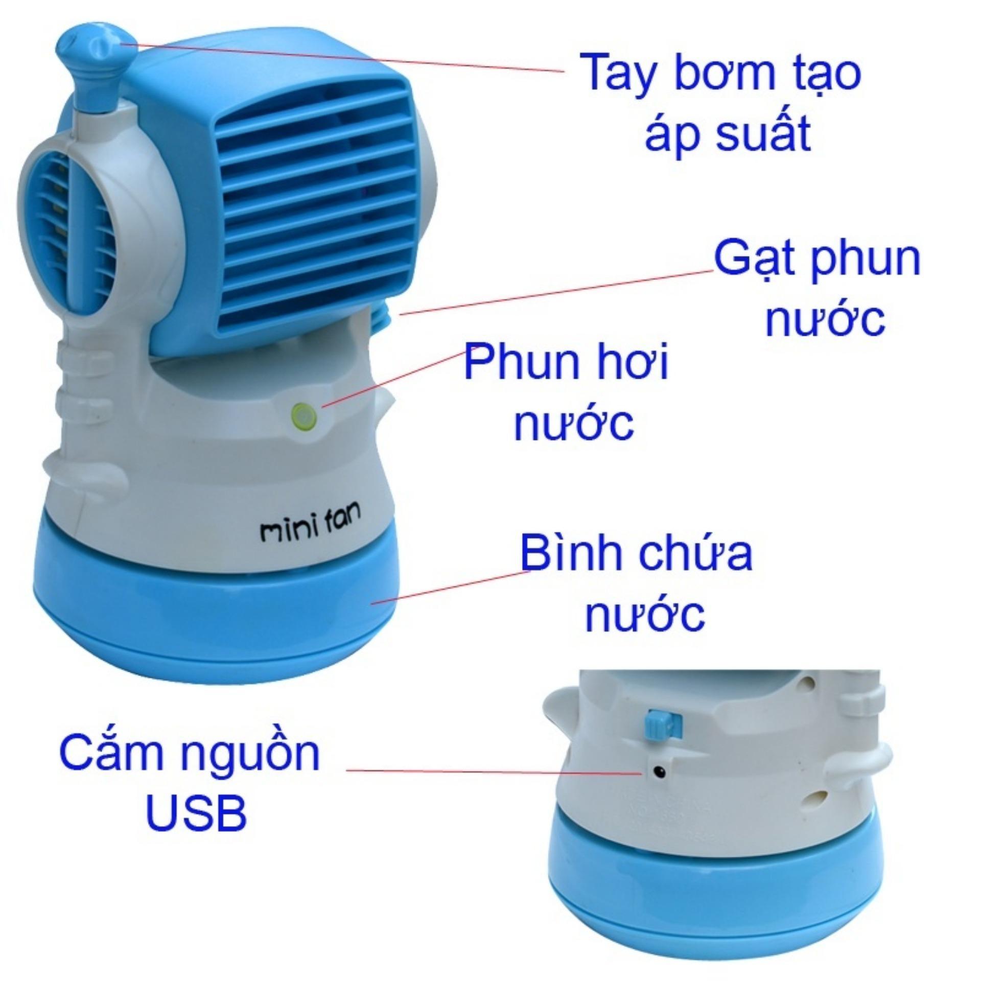 Quạt hơi nước kiêm phun sương mini Fan