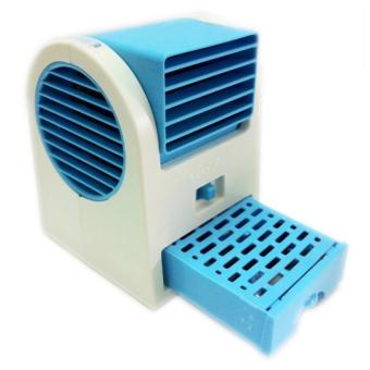 Quạt hơi nước Mini Fan (Xanh)
