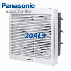 Giá Quạt hút gắn tường Panasonic FV-20AL9 – 1 chiều có màn che(Trắng)