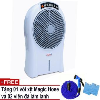 Quạt làm lạnh không khí GoodLife +Tặng 01 vòi xịt Magic Hose và 02viên đá làm lạnh (Trắng)