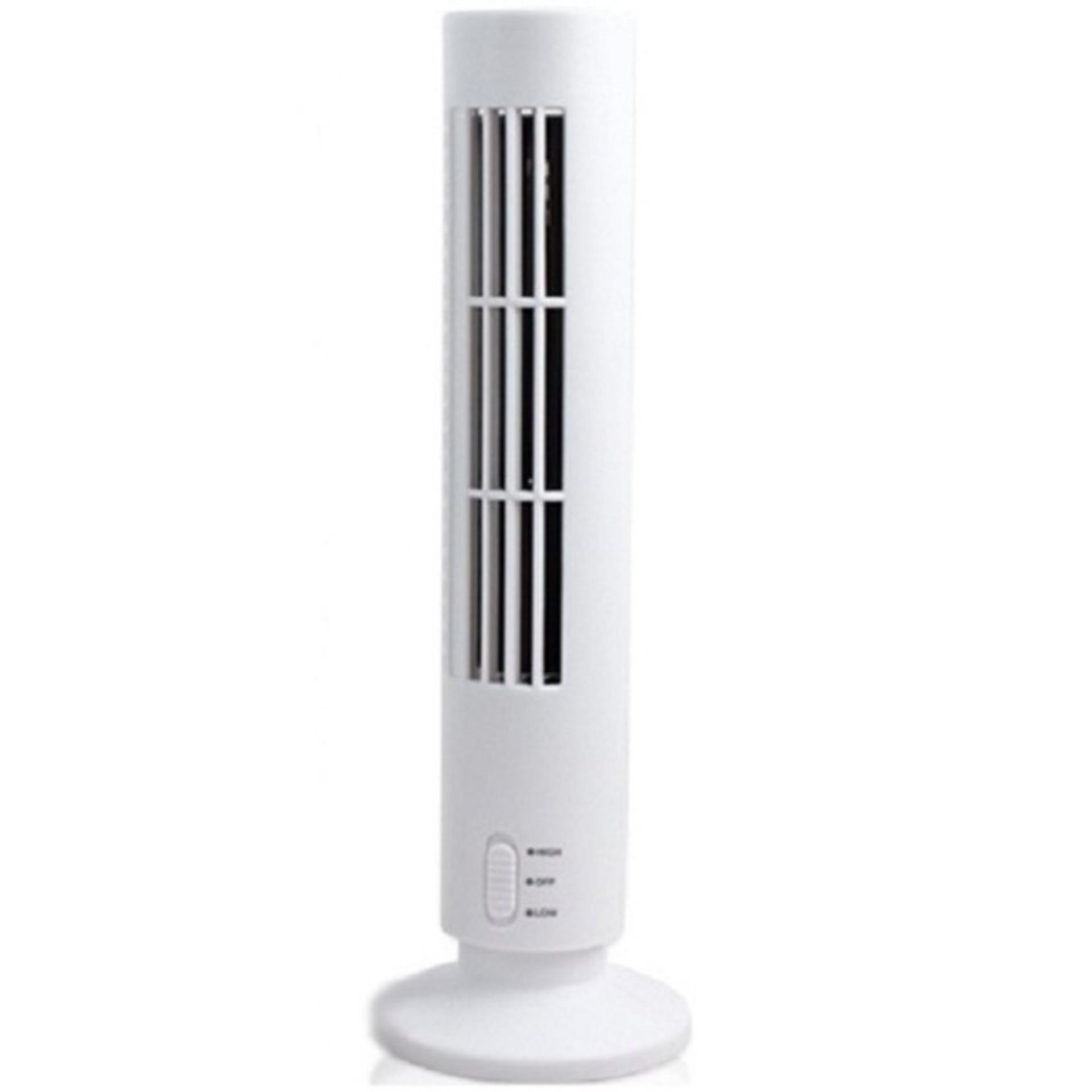 Quạt tháp điều hòa tiết kiệm năng lượng Tower Fan (Trắng)