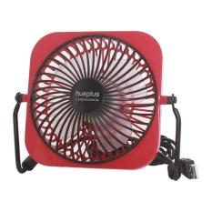 Quạt USB mini L&L (OUF101~103) 3.5W, DC5V, 150*135*80mm – màu đỏ