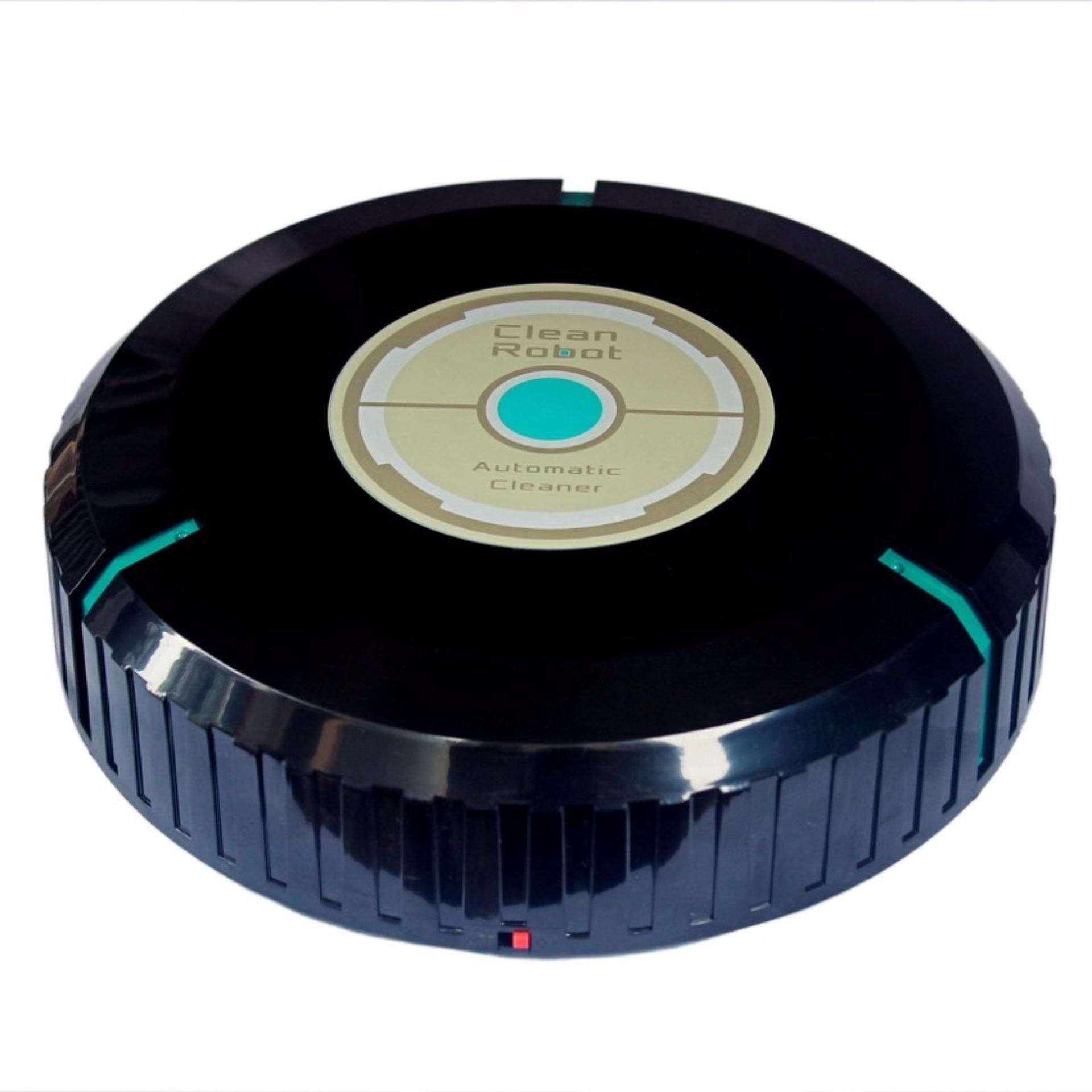 Robot lau nhà cảm ứng tự động mặt đất + Tặng móc khoá huýt sáo tìmđồ