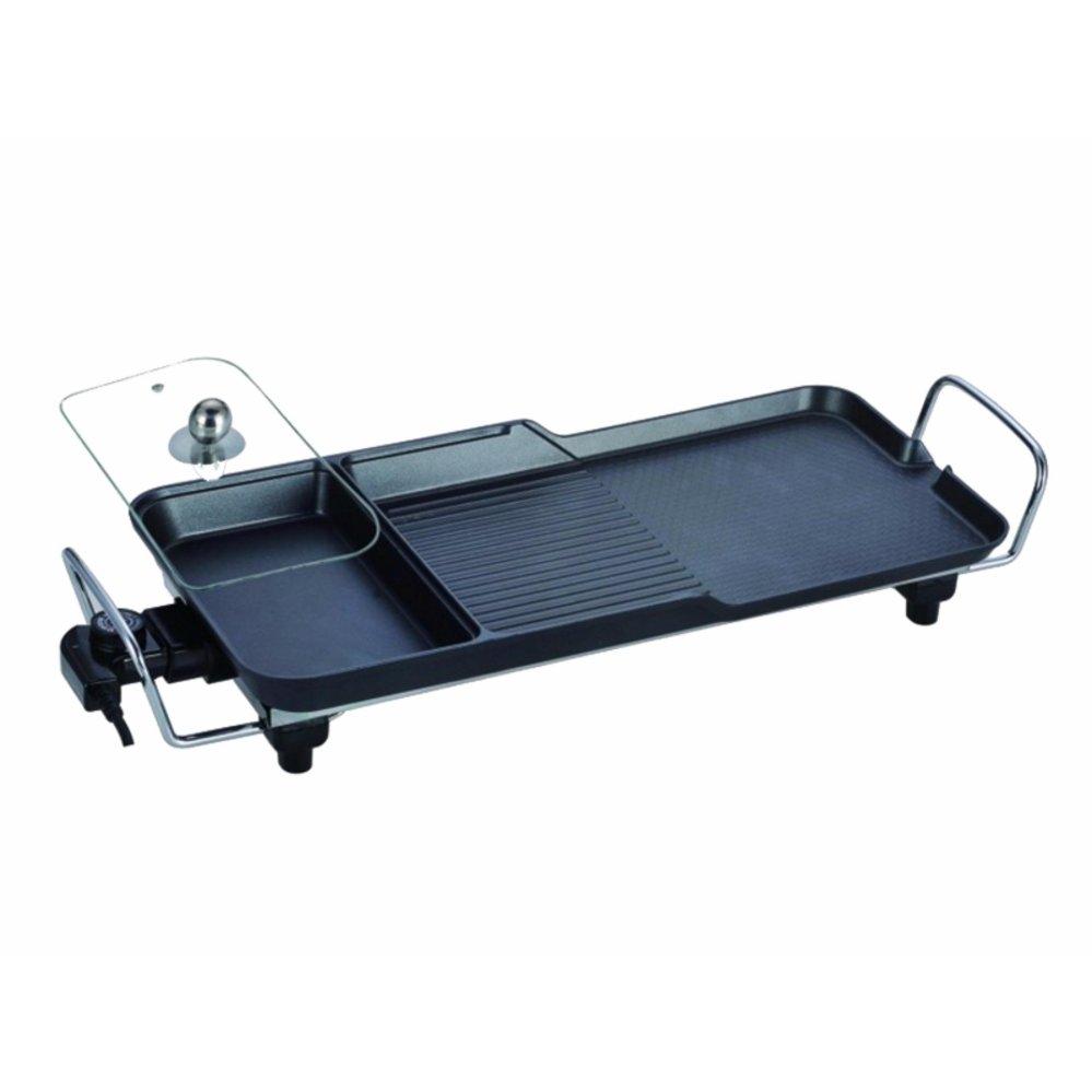 Bếp nướng điện ba ngăn không khói SECITE G-5 , xào, nấu lẩu, nướng chiên, hấp