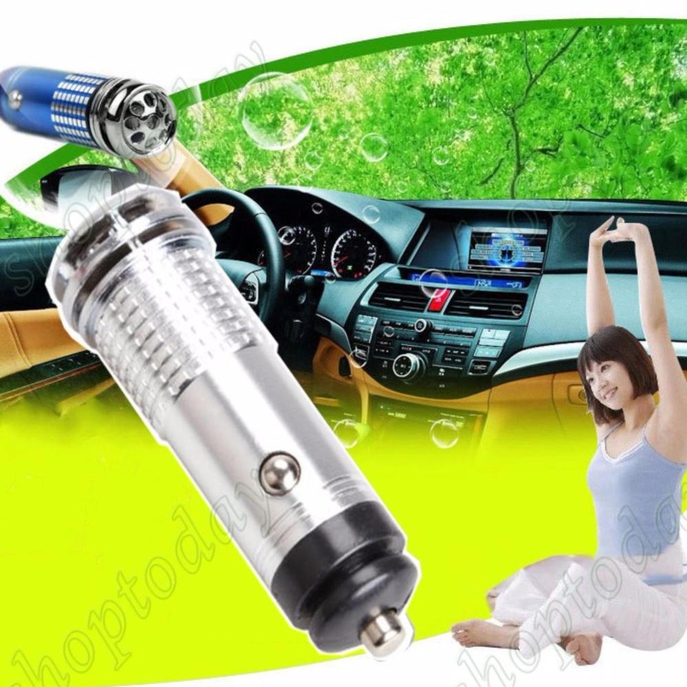 Thiết bị lọc không khí và khử mùi trên ô tô ( đèn Led tạo ion âm lọc khí và khử mùi)