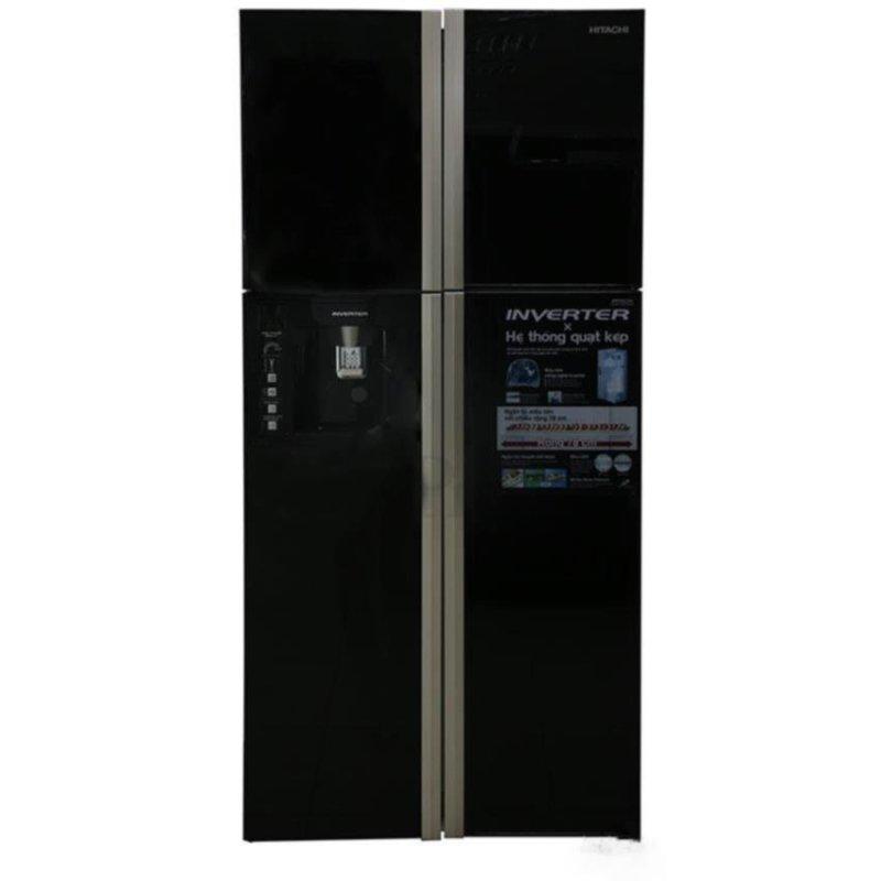 Tủ lạnh 4 cửa Side by side Hitachi R-W660FPGV3X(GBW) 540L (Nâu)
