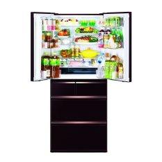 Tủ lạnh 5 cửa Mitsubishi MR-WX53Y-BR-V 272L