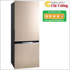 Tủ lạnh Electrolux EBB3200GG 310 lít Inverter 2 cửa (Vàng ánh kim)