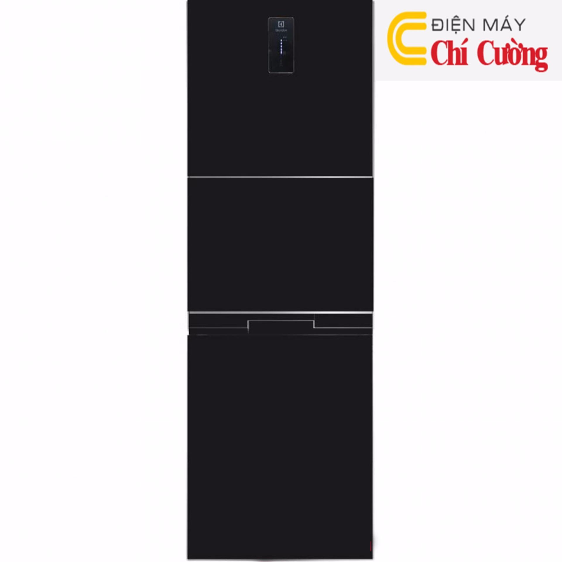 Tủ lạnh Electrolux EME3500BG 334 lít 3 cửa Inverter (Đen)