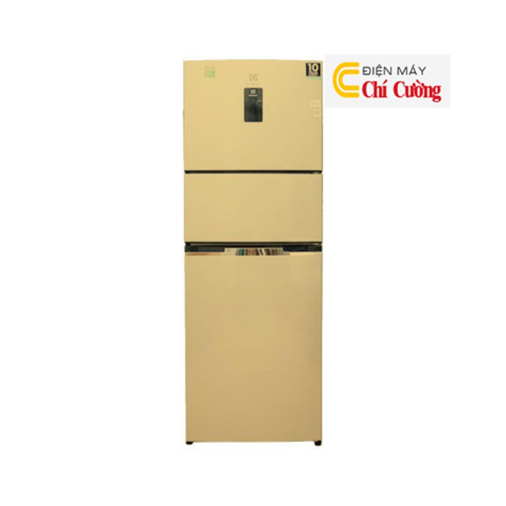 Tủ lạnh Electrolux EME3500GG 334 lít 3 cửa Inverter (Vàng)