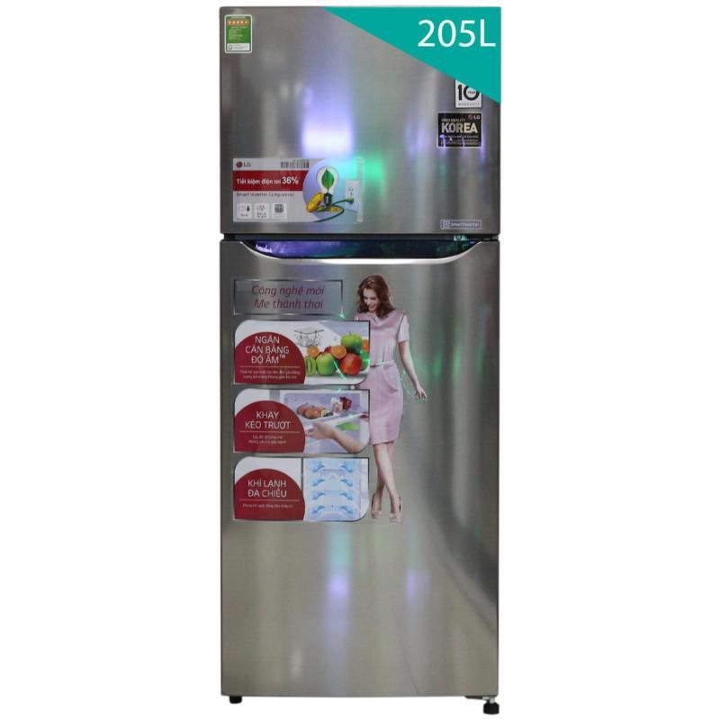 Tủ lạnh LG GN-L205PS 2 cánh 205L
