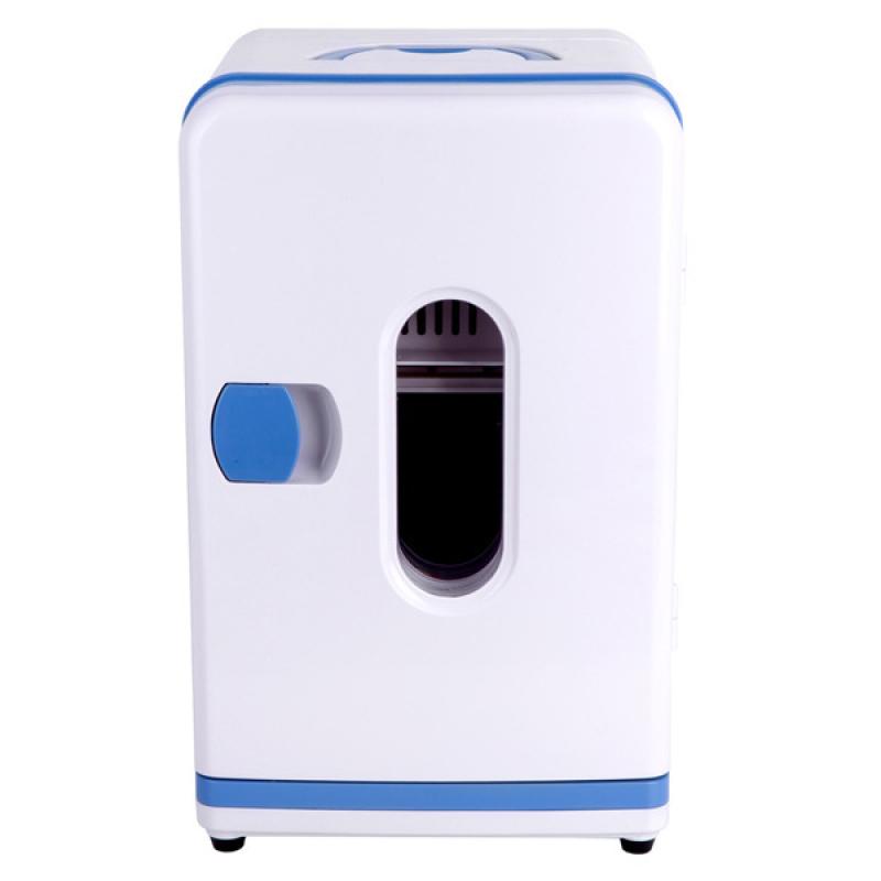 Tủ lạnh mini 10L beemun nguồn điện 220V và 12V (Trắng)