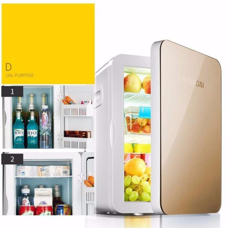 Tủ lạnh mini 20L Sử Dụng Cho Ôtô Và Gia Đình. 2 Mức Điện Áp 12V/220V