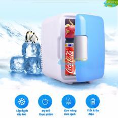 Giá Tốt Tủ lạnh mini 4 lít 2 chế độ nóng lạnh MarryCar MR-TL4L dùng trên ô tô Tại Luna-Viet