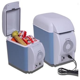 Tủ lạnh mini di động 7.5 lít dùng cho xe hơi, văn phòng nhỏ