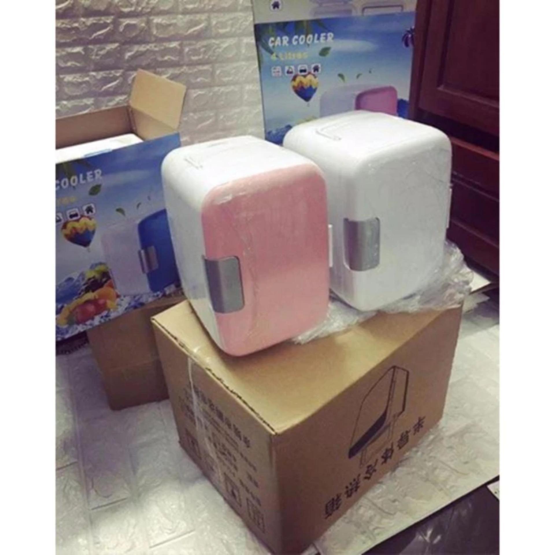 Tủ lạnh mini di động dành cho xe hơi tiện lợi