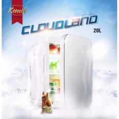 Tủ lạnh mini Kemin 20L cho gia đình và xe hơi