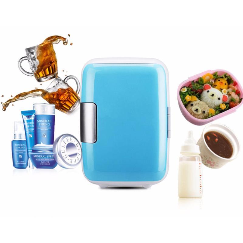 Tủ lạnh mini - tủ lạnh 4L tiện dụng, thiết kế nhỏ gọn dễ dùng