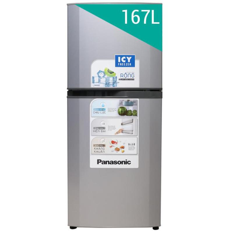 Tủ lạnh Panasonic NR-BM189GSVN 180L (Bạc)