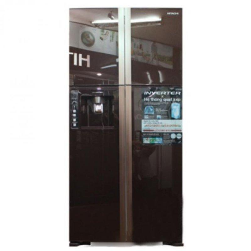 Tủ lạnh side by side Hitachi R-W660PGV3 540L (Nâu)