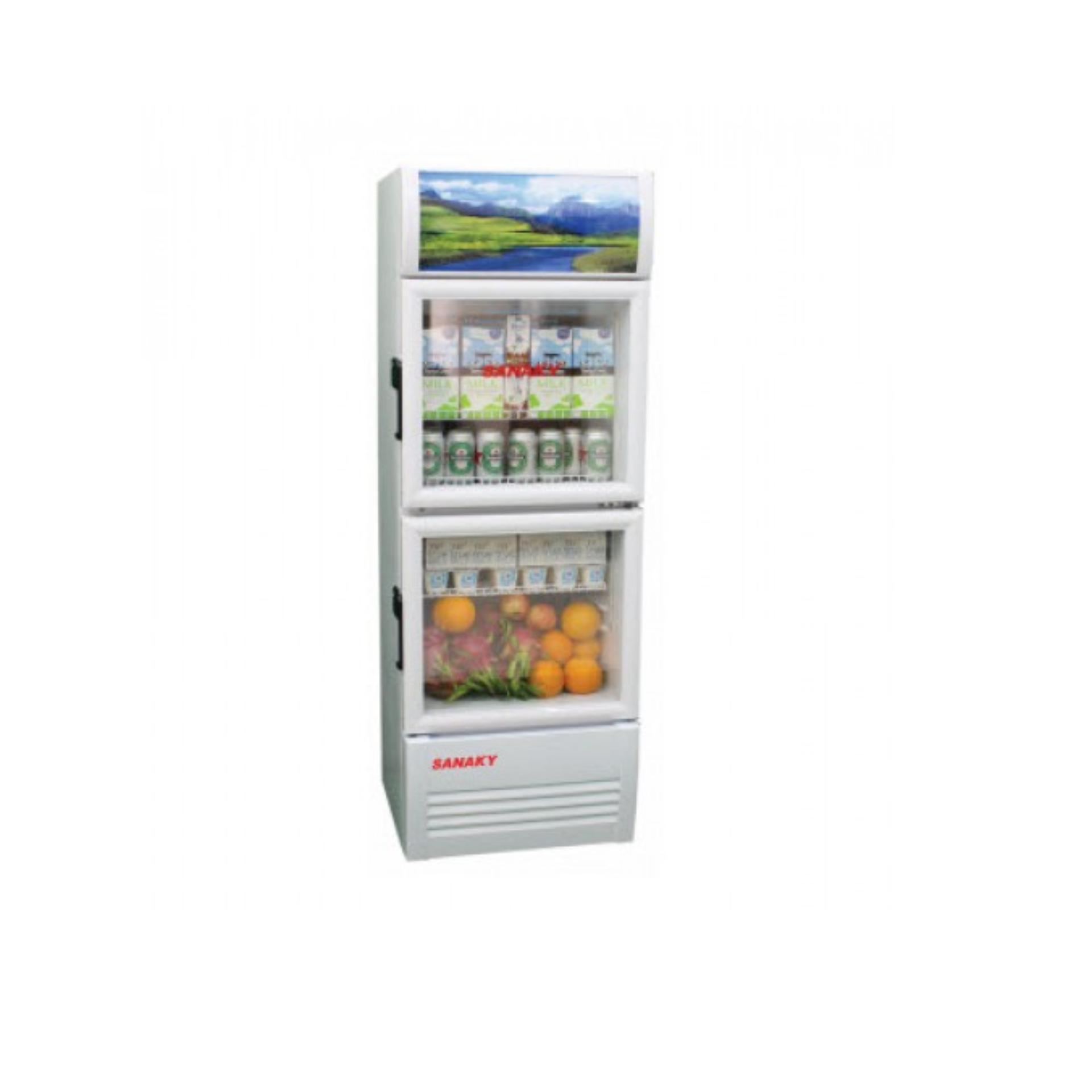 Tủ mát Sanaky 1 cánh dàn lạnh đồng VH-259K
