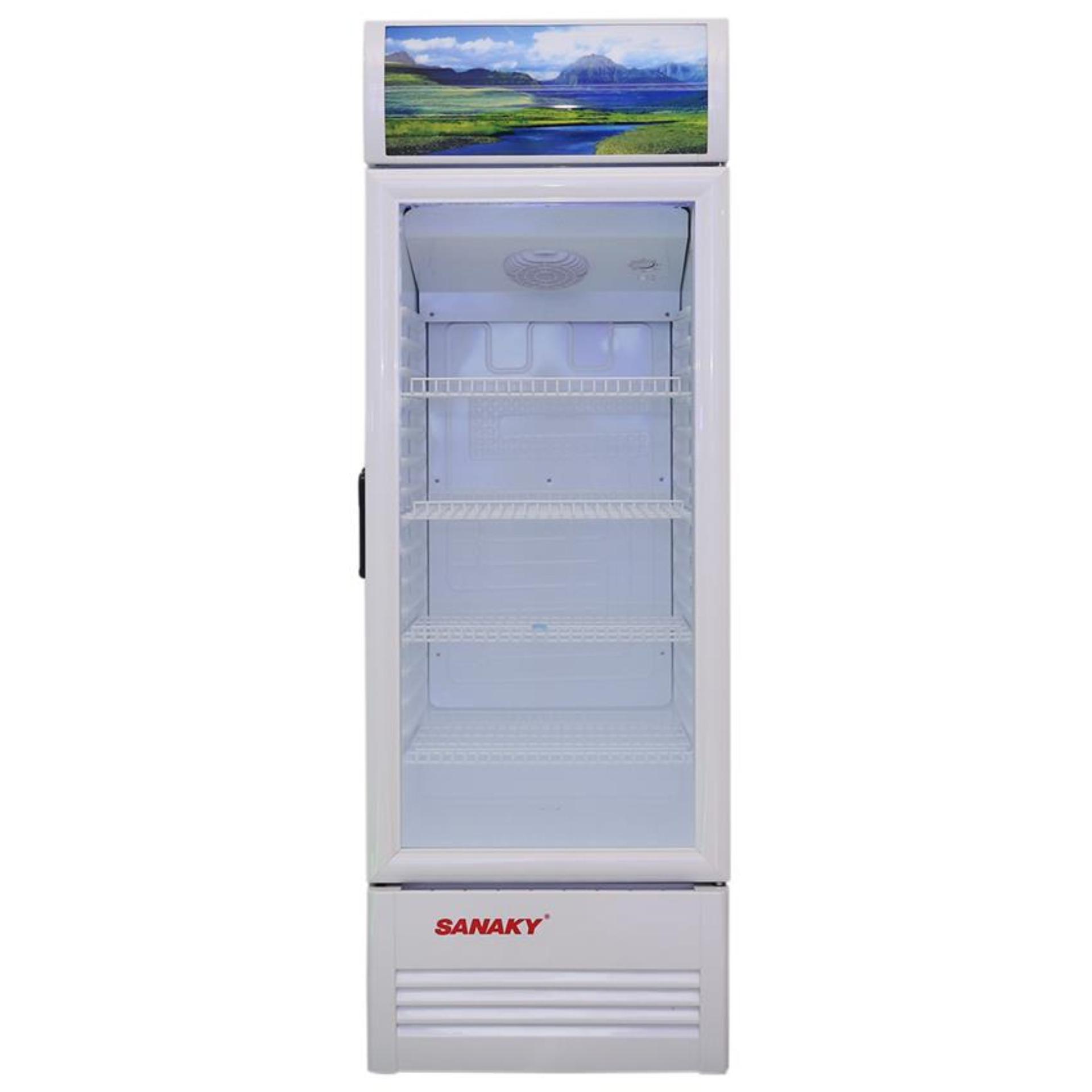 Tủ mát Sanaky hai cánh dàn lạnh đồng VH-259W