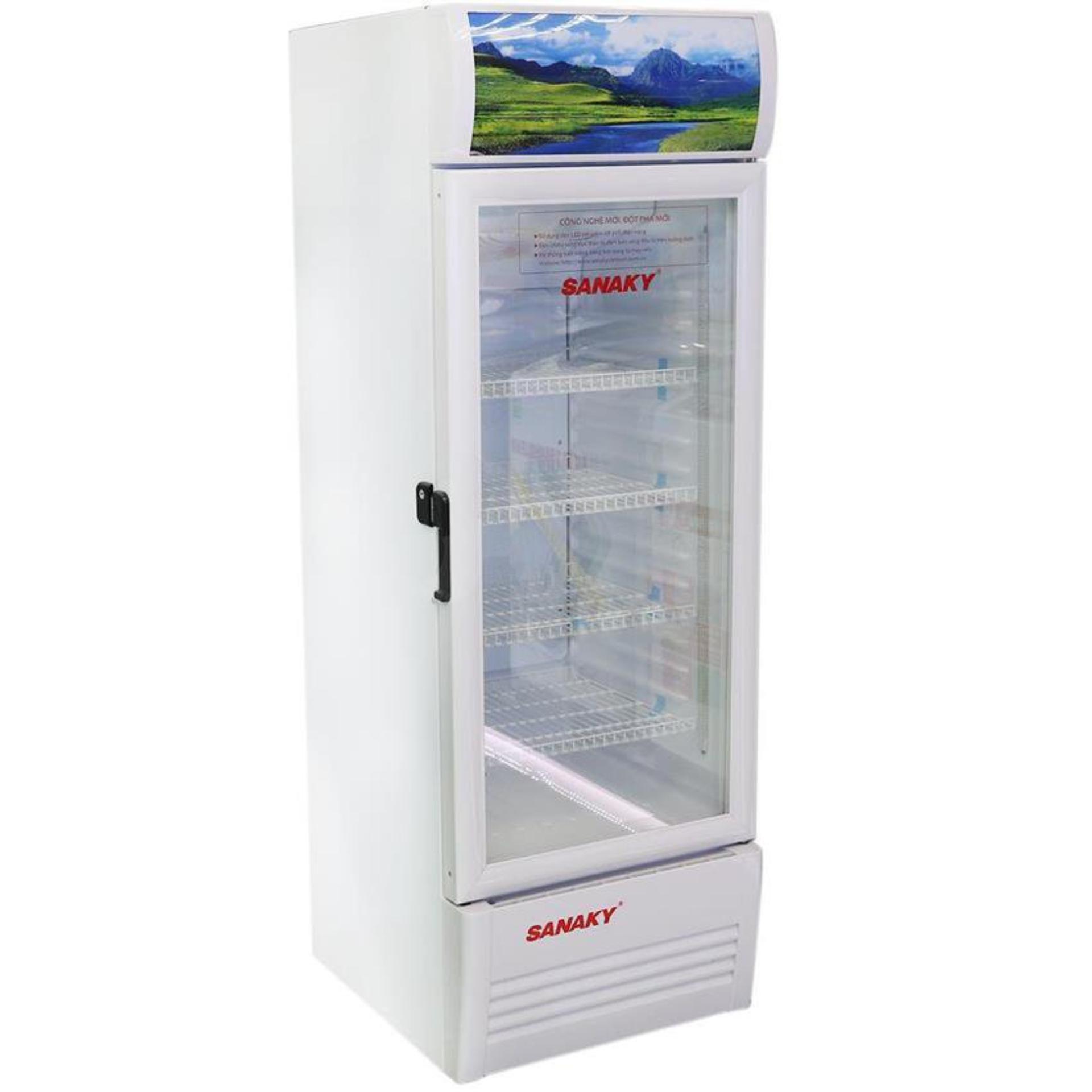 Tủ mát Sanaky hai cánh dàn lạnh đồng VH-309W