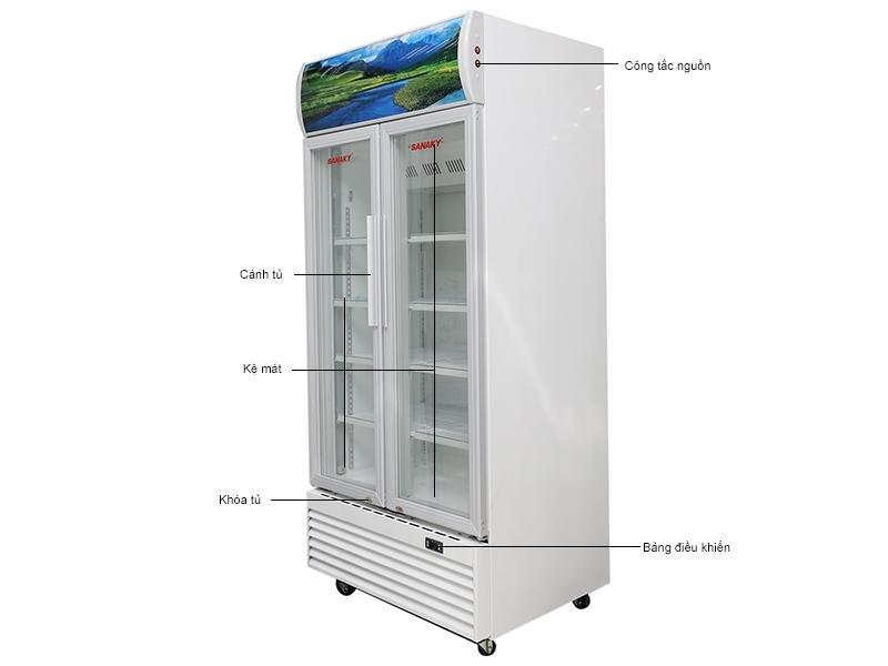 Tủ mát Sanaky VH 6009HP