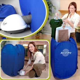 Tủ sấy khô quần áo 3 cấp độ thông minh AIR- O- DRY (Xanh)
