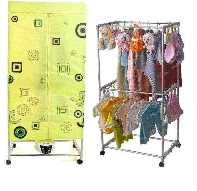 Tủ sấy khô quần áo công nghệ nhật bản khung inox gập 3 chế độ sấy