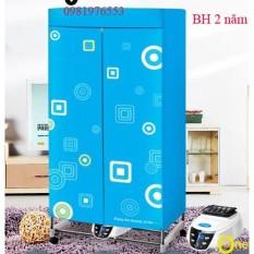 Tủ sấy quần áo PANASONIC HD882F cao cấp treo 15kg quần áo, khung inox,2 tầng, điều khiển từ xa (Sấy nhanh khô.)