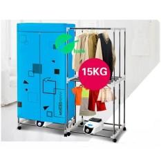 Tủ sấy quần áo Tiết kiệm 50% điện năng, khung inox, 2 tầng, điều khiển từ xa – Kmart
