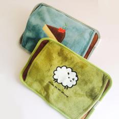 Túi chườm nóng lạnh/ túi sưởi ấm mini hình chữ nhật (Màu ngẫu nhiên)