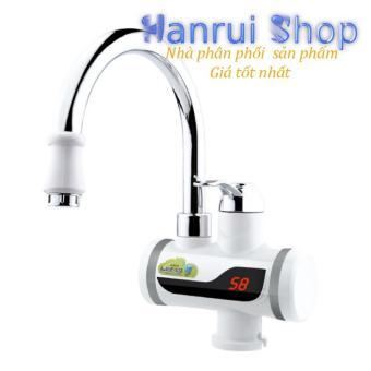 Giá Vòi lavabo nóng lạnh, máy làm nóng nước trực tiếp tại vòi Euro Quality LCD temperature
