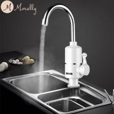Vòi nước nóng trực tiếp Morally GẮN CHẬU xoay 360 độ MR-CC03