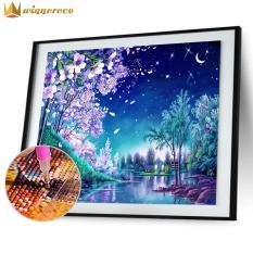 Bộ dụng tự làm tranh kim cương hình phong cảnh 5D tuyệt đẹp kích thước 40*30cm dùng để trang trí phòng ngủ, phòng khách – INTL