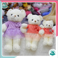 Gấu bông Head váy 40 cm