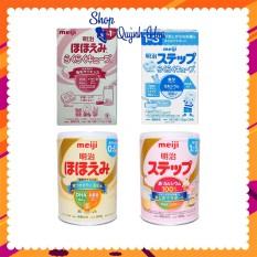 Sữa Meiji Nhật số 0-1, 800g/ số 0-1, 24 thanh/ số 1-3, 800g/ số 1-3, 24 thanh – [HÀNG CHÍNH HÃNG – CÓ TEM PHỤ TIẾNG VIỆT – Giúp tăng cân và tăng chiều cao tốt – Hàm lượng canxi và DHA cao – Hỗ trợ hệ tiêu hóa