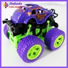 Xe ô tô địa hình đồ chơi quán tính, làm từ nhựa cao cấp an toàn cho bé